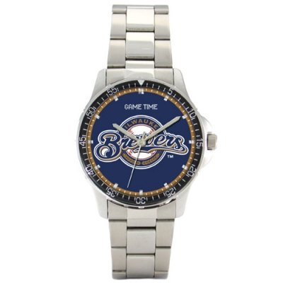 Watch Coach Series Mens Sports (Milwaukee Brewers Game Time Coach Series Mens MLB Watch)