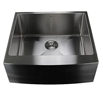 nantucket sinks pro series single bowl farmhouse apron front stainless steel