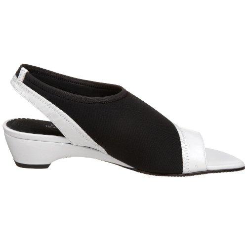 Marchio Lemp Classics Tracy Womens Pump White / Kid