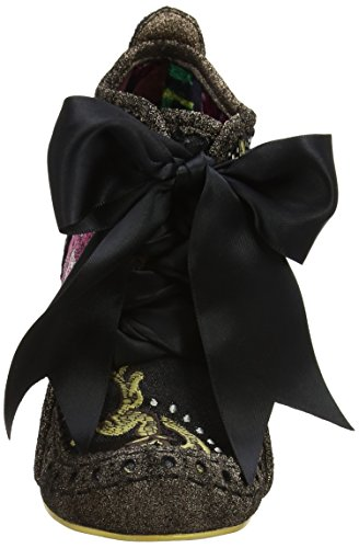 Irregular Choice Abigail's Third Party - Botas Mujer Black (Bronze/Gold)
