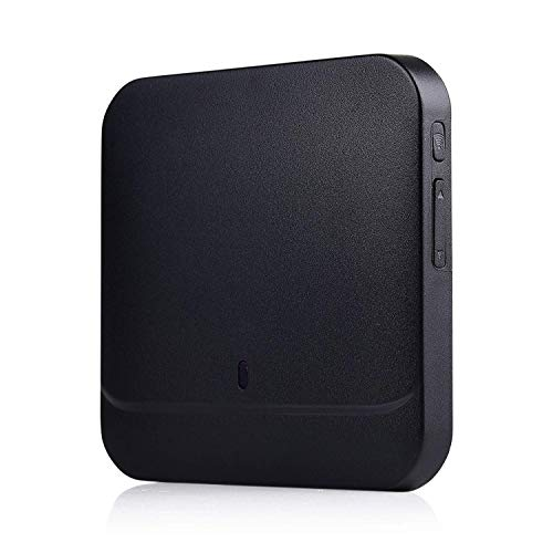 Doorbell Chime, OnLyee 433MHz WiFi Universal Plug-in Chime Smart Doorbell Receiver for Smart Wireless WiFi Security Doorbell (Black)
