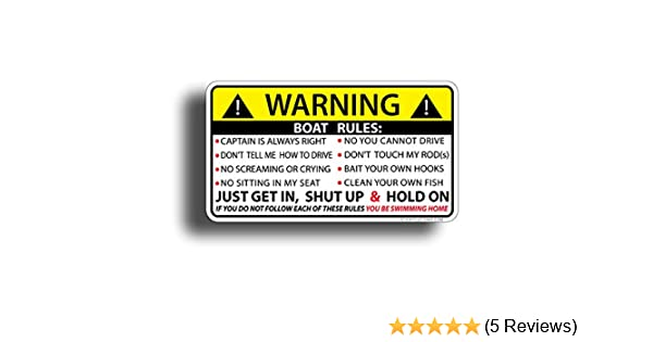 Funny Warning IF DOOR DOES NOT OPEN DON/'T COME IN Sticker Self Adhesive