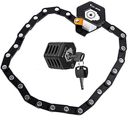 "47/"" Motorcycle Scooter Bike Chain Lock Padlock Anti-theft Safety Heavty Duty US"