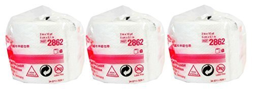 """3m 2862 Medipore H Soft Cloth Surgical Tape 2"""" x 10 Yards - 3 Rolls by 3M"""