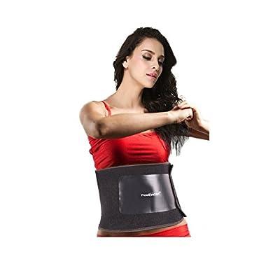 Feelingirl Classic Black Waist Trimmer Weight Loss Ab Belt and Workout Waist Trainer