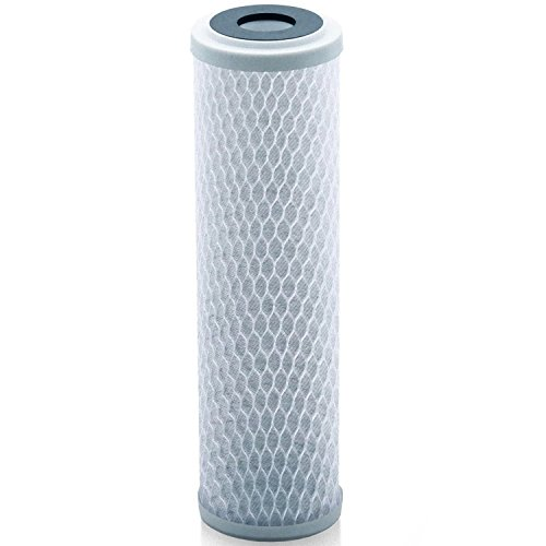 - Universal 10 inch Carbon Block Water Filter Cartridge - Replacement CTO Water Purifier Filter, Activated Carbon (NSF 42 Certified) (1)