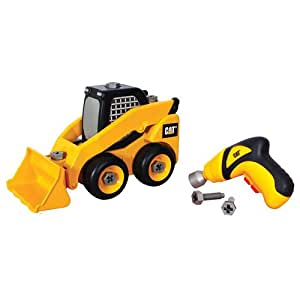 Toy State Caterpillar Construction Take-A-Part Trucks: Skid Steer