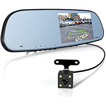 Amazon Com Boyo Vtm43tca 4 3 Inch Rear View Mirror