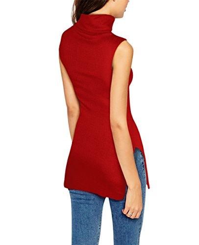 HyBrid Company Sleeveless Turtleneck Sweater product image