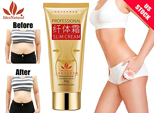 Fat burner, slimming cream,fat burner cream,Cellulite Removal Cream,Muscle Relaxer Weigth Loss 60g by ShopIdea