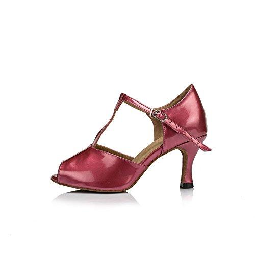 Miyoopark - salón mujer Burgundy-7.5cm heel