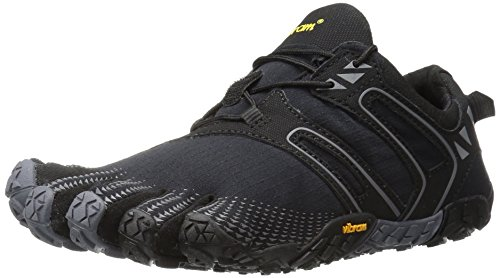 Vibram Women's V Trail Runner, Black/Grey, 37 EU/6.5 M US