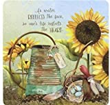Legacy Publishing Group Every Day Coasters, Watering Can & Sunflowers, 12-Count