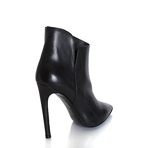 Giancarlo Paoli Black Split Side Ankle Boot Black OHpaWfa