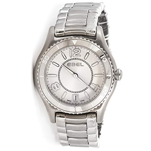 Ebel X-1 Quartz (Battery) Silver Dial Womens Watch 1216107 (Certified Pre-Owned)