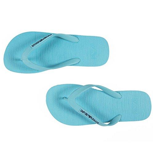Azul De Armani Vestir Sandalias Turquesa Emporio Para Hombre wqY8ETTx
