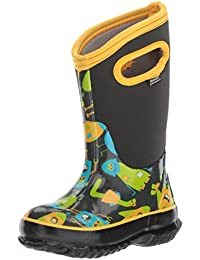 Kids' Classic High Waterproof Insulated Rubber Neoprene Rain Boot, Multiple Color Options