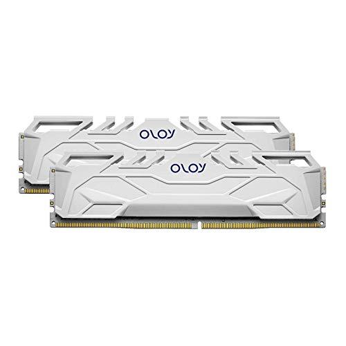 OLOy DDR4 RAM 16GB (2x8GB) 3200 MHz CL16 1.35V 288-Pin Desktop Gaming UDIMM (MD4U0832160BHWDA)