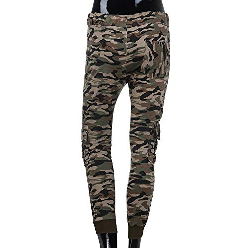 Spbamboo Mens Camouflage Fold Pocket Slim Fit Casual Sport Overall Trouser Pants by Spbamboo (Image #3)