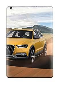 Ipad Mini/mini 2 2012 Yellow Audi Q3 Jinlong Yufeng Front Speed Q Cars Audi Print High Quality Tpu Gel Frame Case Cover