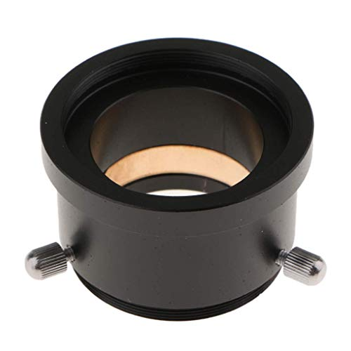 Qkefegfkgr Telescopes Adapter Spare Parts with Brass Compression Ring, M42x0.75 to 1.25 inch (Color : -, Size : -) ()
