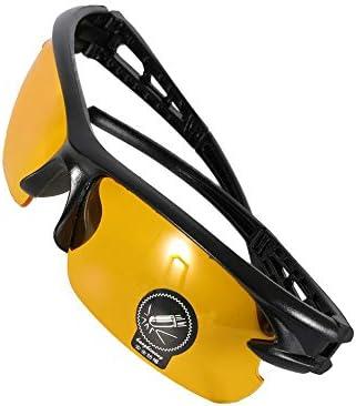 SEN Gafas de Sol a Prueba de explosiones de los Hombres Gafas de Montar para Montar en Bicicleta Gafas de Sol de Bicicleta Visi/ón Nocturna Nocturna