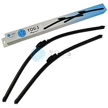 2 YOU.S Frente Wiper Blade 700+575mm - 76620-smg-g01: Amazon.es: Coche y moto