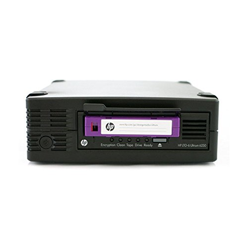 Hewlett Packard HP EH970A#ABA LTO6 Ultrium 6250 External Tape Drive Components Other EH970A#ABA by HP