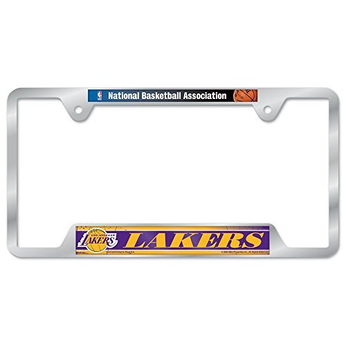 - NBA Los Angeles Lakers Metal License Plate Frame