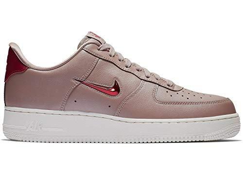 Nike Air Force 1 '07 LV8 Leather Diffused Taupe/Red Crush (10 D(M) US)