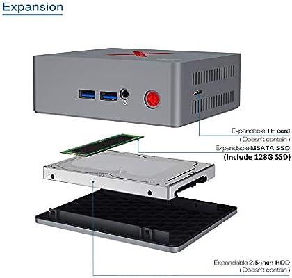 Beelink BT3-X Mini PC Ordenador de Sobremesa con HDMI, Intel ...