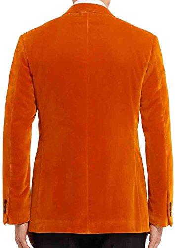 Mujer Fashion Traje De Plumaje Naranja first Chaqueta Para YUqzY