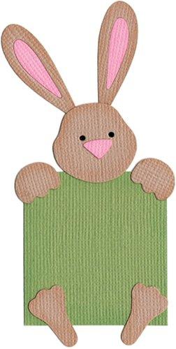 We R Memory Keepers KS-0412 2 by 2-Inch Dies, Peek-A-Boo Bunny (Die Alphabet Revolution)