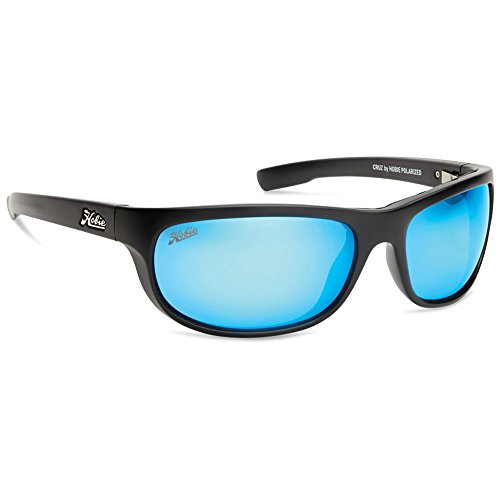 Hobie Cruz-010168 Polarized Rectangular Sunglasses,Satin Black,64 - Through Frames Eyeglass See