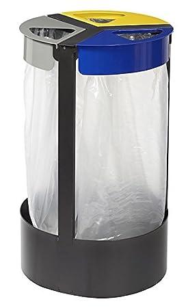 Soporte para bolsa de basura Rossignol citwin Acero 3 x 45 L ...
