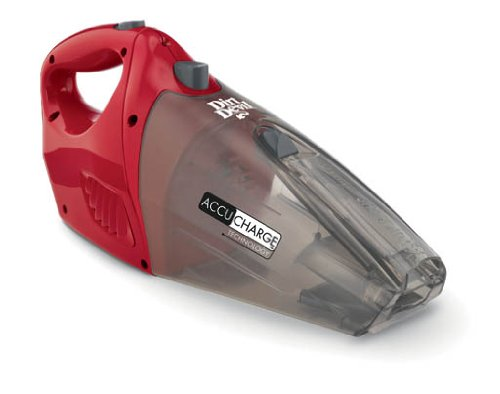 Dirt Devil BD10040RED Accucharge Cordless 15.6-Volt Hand Vac
