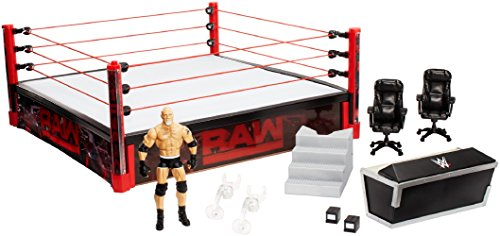 WWE Elite Collection Raw Main Event Ring Playset by WWE