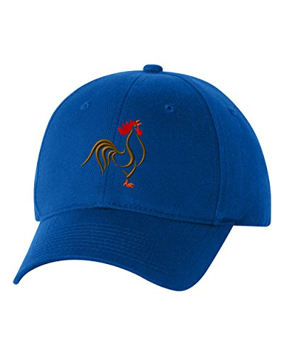 Rooster Custom Funny Humor Personalized Embroidery Embroidered Baseball Hat Cap Baseball Humor Cap