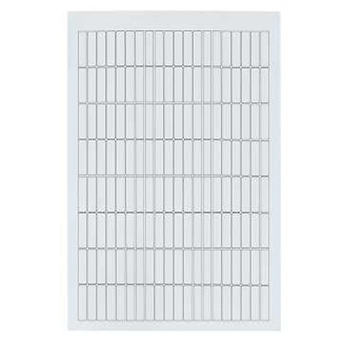 Sheet Of Labels Sheet of 64 8 X 33 For Engraving Schneider Electric LAD23 Labels For Tesys D