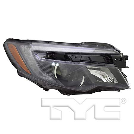 CarLights360: Fits 2016 2017 Honda Pilot Headlight Assembly Passenger Side (Right) NSF w/LED DRL w/Bulbs HO2503167 (Trim: EX-L ; EX; Sport Utility ; EX ; Touring; Sport Utility ; Touring)