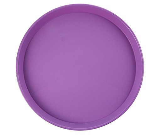 15.75 Inch Tray - Arrow Plastic 00198 Round Serving Tray 15-3/4 in Diameter, Assorted Colors