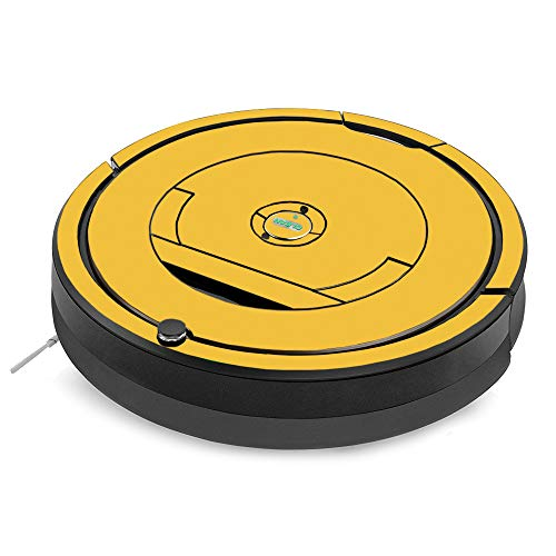- MightySkins Skin for iRobot Roomba 890 Minimal Coverage Vacuum - Solid Marigold | Protective, Durable, and Unique Vinyl Decal wrap Cover | Easy to Apply, Remove, and Change Styles | Made in The USA