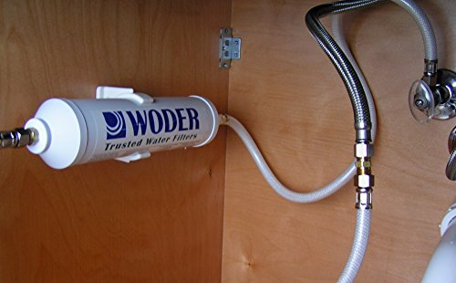 Woder 10K-DC Ultra High Capacity Under Sink Direct Connect Water Filtration System — Under Sink, Premium Class 1. Removes 99.99% of Contaminants for Safe, Fresh and Crisp Water, USA-Made by Woder (Image #3)