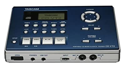 Tascam CD-VT2 CD Vocal and Instrument Trainer