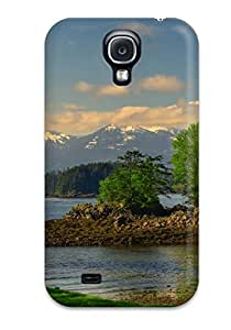 New Arrival Cover Case With Nice Design For Galaxy S4- Lakeside House
