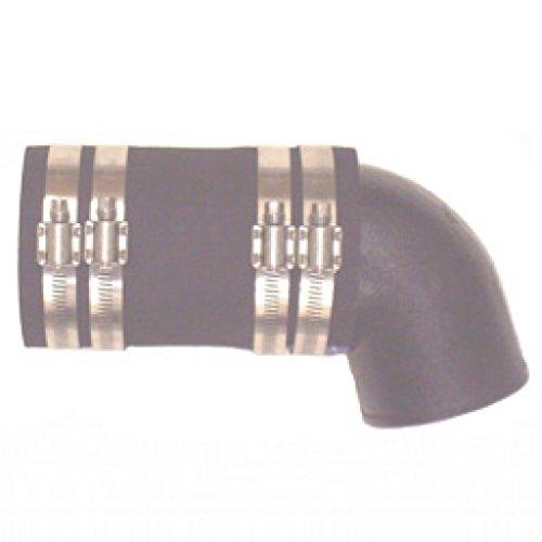 Exhaust Elbow Adapter - Barr Exhaust Elbow Adaptor 90 Degrees 3