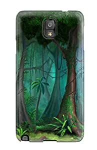 HAtNPSA5668ZeGIm Meditation With Nature Forest Fashion Tpu Note 3 Case Cover For Galaxy