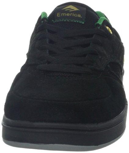 Herren Skateschuh Emerica The Heritic Skate Shoes Schwarz