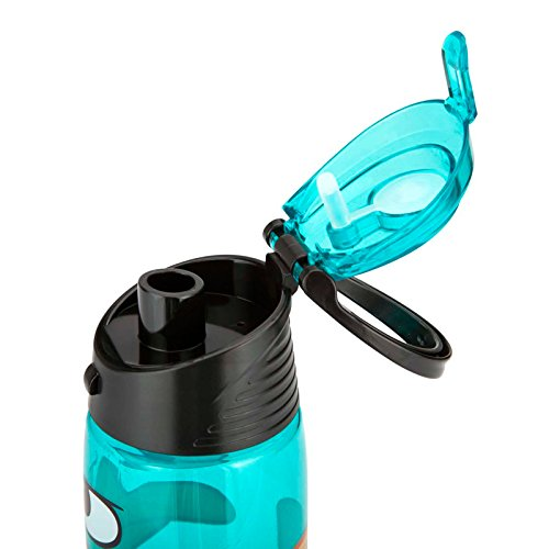 Zak Designs Tritan Water Bottle With Flip Top Cap With