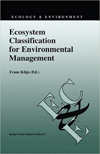 Ecosystem Classification for Environmental Management (Ecology and Environment) (Ecology and Environment)